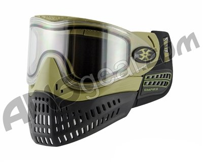 Empire E-Flex Paintball Mask - Olive by Empire Paintball