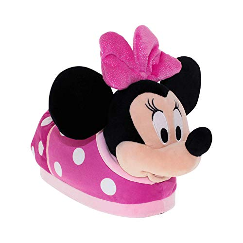7009-9 - Disney Minnie Slippers - X-Small - Happy Feet Mens and Womens Slippers