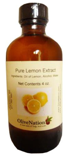 Lemon Extract 4 oz., 4 Ounce ()