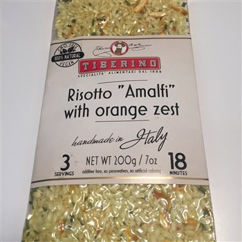 Tiberino's Real Italian Meals - Risotto ''Amalfi'' with orange zest by Tiberino