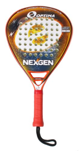 Optima NEXGEN Hybrid 100% Carbon Platform Padel Beach Paddle Tennis Raquet Paleta