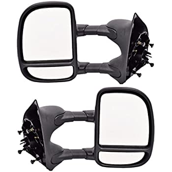 Amazon Com Dedc Towing Mirrors F250 Mirrors Passenger
