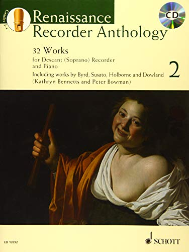 (Renaissance Recorder Anthology - Volume 2: 32 Pieces for Soprano (Descant) Recorder and Piano Book/CD)