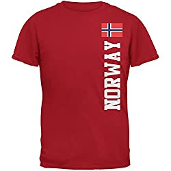World Cup Norway Red Adult T-Shirt