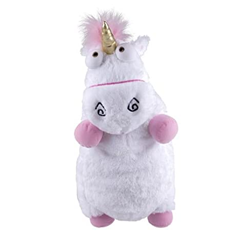 Xingcolo New Despicable Me Jumbo Plush Super Fluffy Agnes S Unicorn 24 Free White