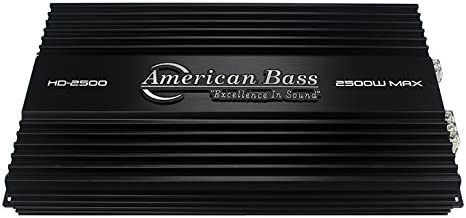 American Bass HD2500 Subwoofer Amplifier