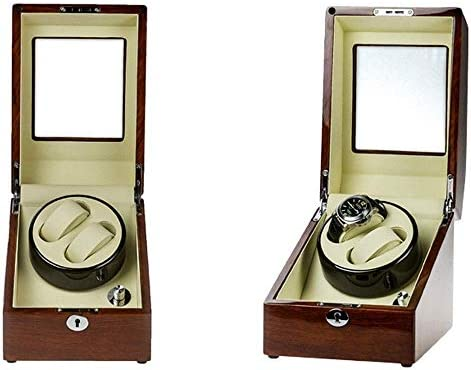 LKB-KB 自動腕時計のための2 + 3レザーコンパートメントウォッチワインダー付きウォッチワインダー自動ウォッチワインダー