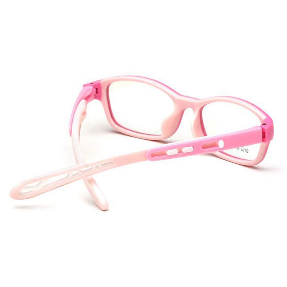 839cdfc168 Amazon.com  Fantia Unisex Child Non-Prescription Glasses Frame Clear Lens  Kids Eyeglasses (2 -Pink)  Health   Personal Care