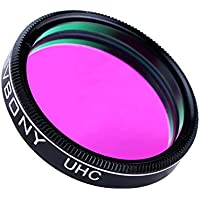 SVBONY 1.25 Ultra High Contrast UHC Filter for Deep-Sky Objects Observations Astrophotography to Improve the Image Contrast Reduces Light Pollution