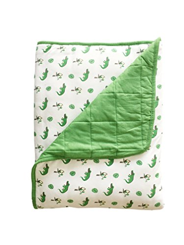 Kyte BABY Blankets for Toddlers and Infants - Made from Soft Organic Bamboo Material to Keep Your Little Ones Cozy and Warm - Printed 1.0 tog (One Size, Leaf/Rainforest)