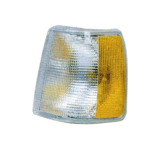 1991-1995 Volvo 940 & 960 (for Models without Fog Lights, non-Turbo), 1990-1992 Volvo 740 Corner Park Light Turn Signal Marker Lamp Left Driver Side (1994 94 1993 93 1992 92 (1994 Volvo 940 Turbo)