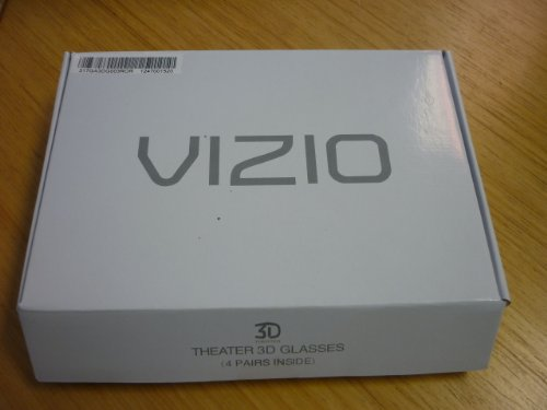 VIZIO Theater 3D Glasses - Pack of 4