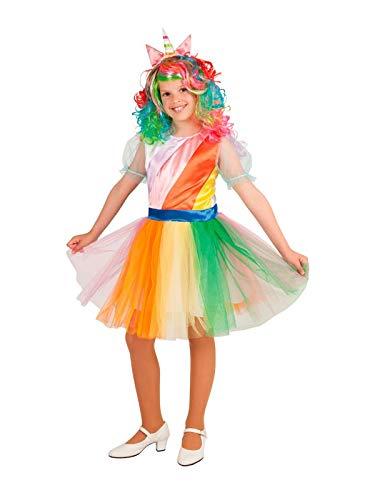 DISBACANAL Disfraz Unicornio para niña - Único, 6 años: Amazon.es ...