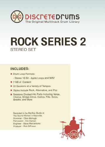 Discrete Drums Rock Series 2 Stereo - Discrete Series Drums