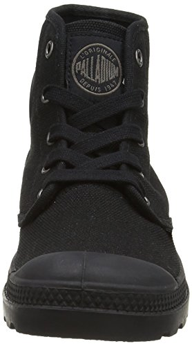 Hi Pampa black Basket Canvas Noir Mode Palladium Femme 57Oq0wOR