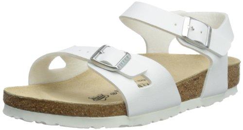 Birkenstock Birko-Flor Rio White Womens Comfort Ankle Strap Sandals New 37 EU by Birkenstock