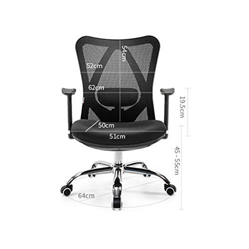 LQ Ergonomisk stol datorstol hem svängbar stol chef stol midja kontorsstol sportstol