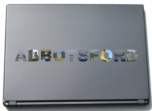 Abbotsford Laptop Sticker Laptop Skin 290 mm with sights