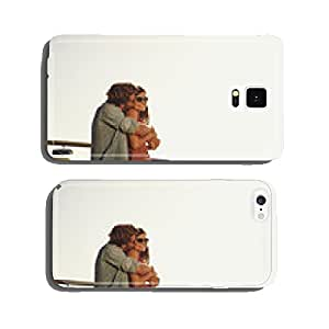 Romantic young couple on road trip cell phone cover case Samsung S5
