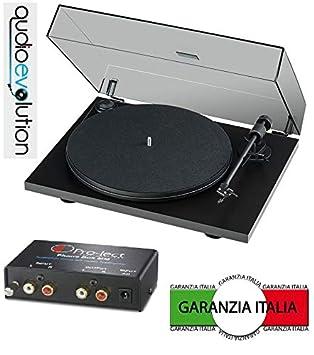 Pro-Ject Primary y Negro Tocadiscos y Pre Phono Box MM en ...