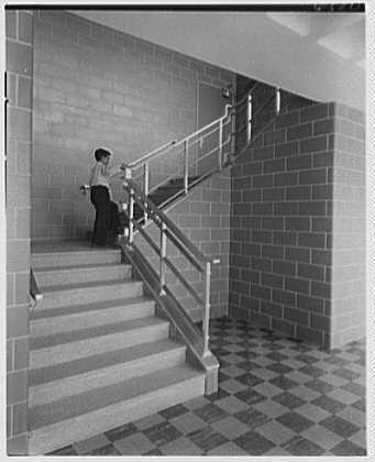 Photo: Public School 220,Horace Harding Blvd.,Forest Hills,Long Island. - Blvd Hill Forest