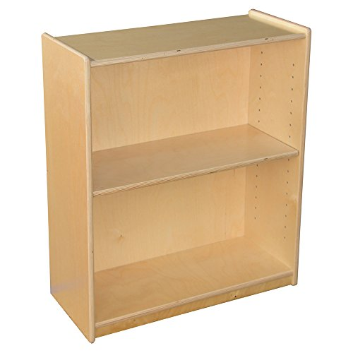 Wood Designs 15900AJ Small Bookcase with Adjustable Shelves