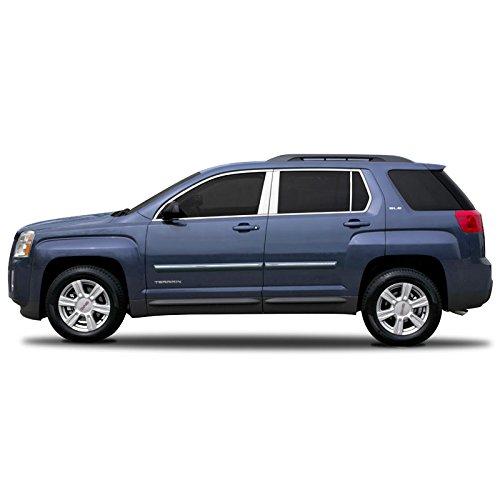 CF2-EQUINOX Chromeline Body Side Molding for Chevrolet Equinox, GMC Terrain - SILVER TOPAZ/GLACIER BLUE WA101V (GWS) ()