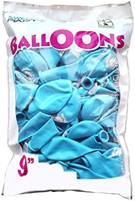 girm® – k20.s9265 – Pack de 20 unidades, Globos Azules Buon ...
