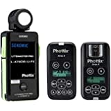 Sekonic LiteMaster Pro L-478DR-U-PX Light Meter with Phottix Ares II...