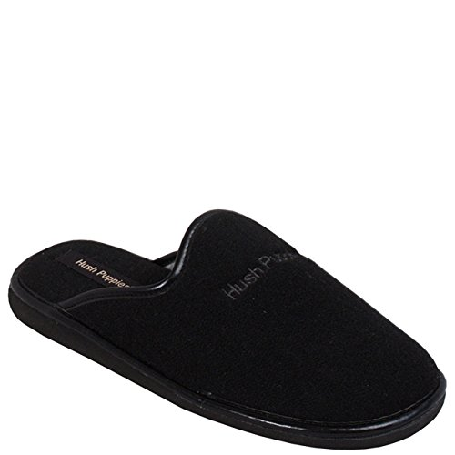 Hush Puppies Black Suede Black
