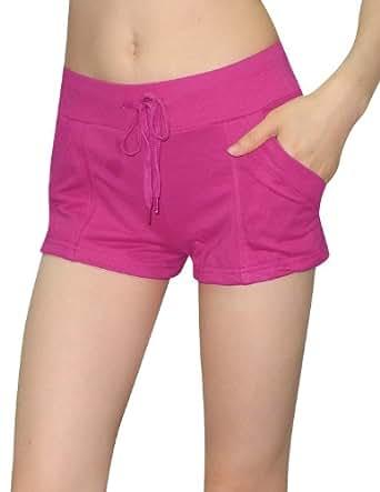 Womens Athletics / Summer Casual Shorts 8 Fuchsia