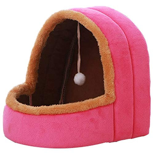 (Soft Comfortable Teddy Akita Kennels Plush Dogs Houses Small Dogs Mats Warm Durable Pet Puppies Cats Nests Size S-L)