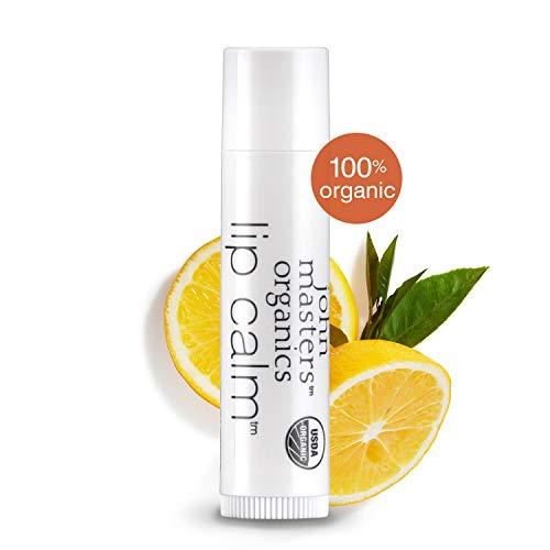 John Masters Organics - Lip Calm Original -USDA Certified Organic Natural Lip Balm to Moisturize, Hydrate & Soothe Chapped Lips - 0.15 oz