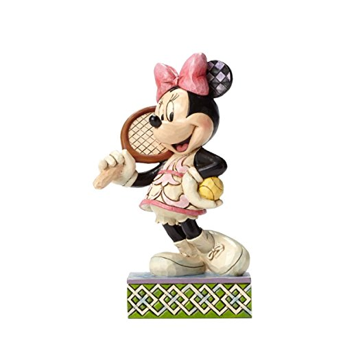 Enesco Jim Shore Disney Traditions Tennis Anyone Minnie Mouse Racket Figurine 4050404