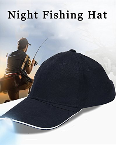 29f94388694 5 LED Baseball Cap With Light Hat For Fishing and Hunting - Best Hands Free  Solution