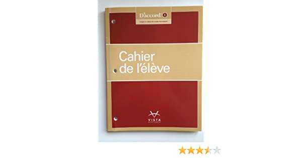 Daccord 2015 level 1 cahier de llve workbook vhl daccord 2015 level 1 cahier de llve workbook vhl 9781626802018 amazon books fandeluxe Images