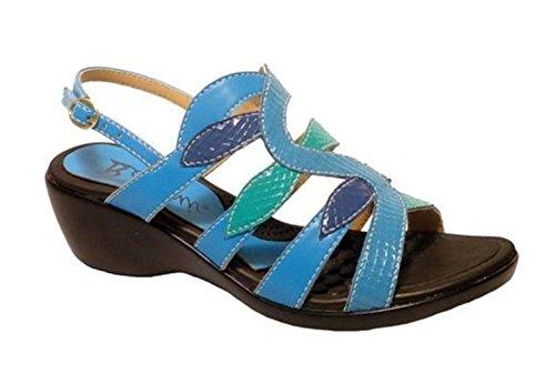 Bellini Womens King Sandal Turquoise Snake xfBiu