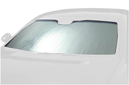 Jeep Windscreen - Intro-Tech JP-18 Custom Auto Sun Shade, Silver