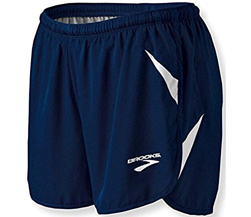 Brooks Athletic Track/Field Flyaway Shorts - Navy/White - Small