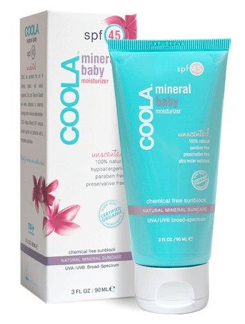 Coola Suncare Suncare Unscented Mineral Sunscreen SPF 50, 3 Fl Oz