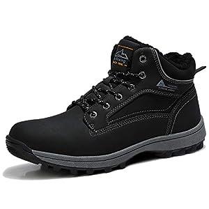 ARRIGO BELLO Bottes Homme Femme Bottine Bottes de Neige Boots Hiver Chaussures Chaudes Fourrure Randonnée Les Loisirs 36…