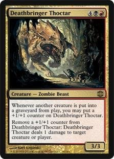 Magic: the Gathering - Deathbringer Thoctar - Alara ()