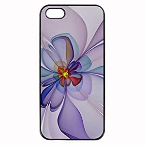 Violette Printed Plastic Rubber Sillicone Customized iPhone 5 Case, iPhone 5S Case Cover, Protection Quique Cover, Perfect fit, Show your own personalized phone Case for iphone 5 & iphone 5S by ruishername