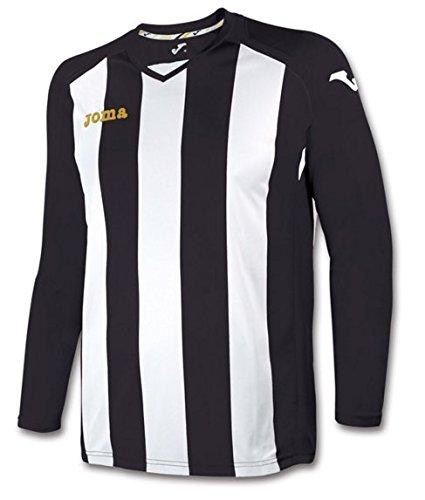 Joma 1202.99 - Camiseta de equipación de manga larga para mujer Negro / Blanco