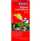 Belgium & Luxembourg 2016 National Map 716 2016 (Michelin National Maps)