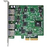 HighPoint Second Generation Quad USB 3.0 Port PCI-Express 2.0 x 4 HBA for Mac Pro RocketU 1144BM