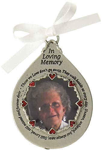 Cathedral Art Loving Memory Picture Frame Ornament (Memory Loving Ornaments Christmas)