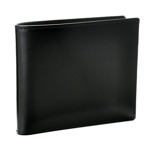 ETTINGER(エッティンガー) 財布 メンズ Bridle Hide 2つ折り財布 ブラック BH030CJR-0001-0001 [並行輸入品] B01J999PEO