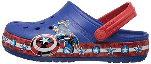 Pictures of Crocs Boys' CB FL Captain America CLG 205019 Blue Jean 5