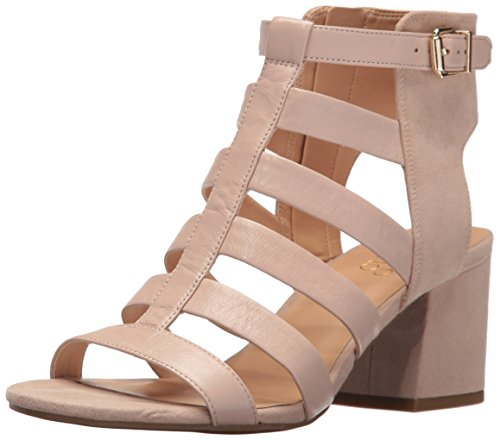 Franco Sarto Women's L-Mesa Dress Sandal, Pavilion Beige, 9.5 M US